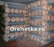 Рабица оцинкованная плетеная  ГОСТ 5336 80 для заборов оцинкованная и черная в рулонах