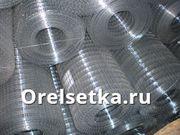Сетка рабица в рулонах плетеная  ГОСТ 5336 80 для заборов оцинкованная и черная
