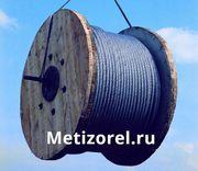Канат типа лк-ро стальной двойной свивки с металлическим сердечником