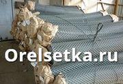 Рабица плетеная  ГОСТ 5336 80 для заборов оцинкованная и черная в рулонах